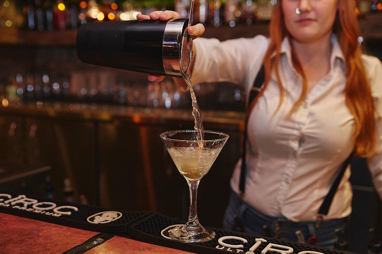 Préparation de cocktails