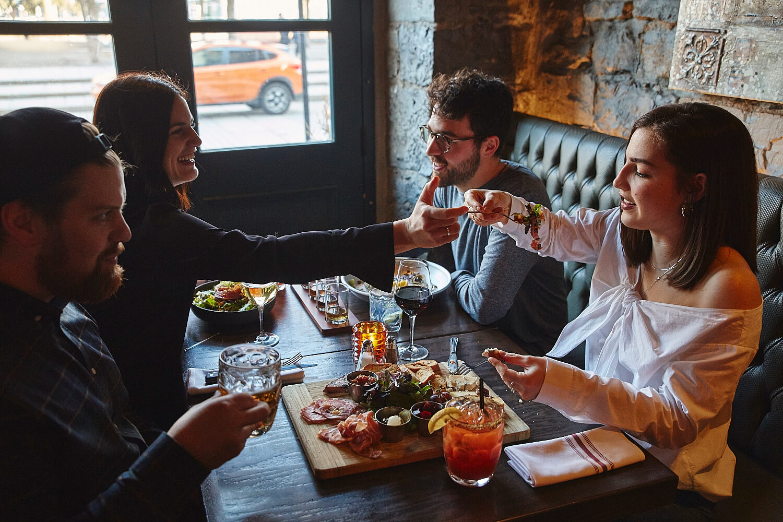 Repas à la Taverne Gaspar