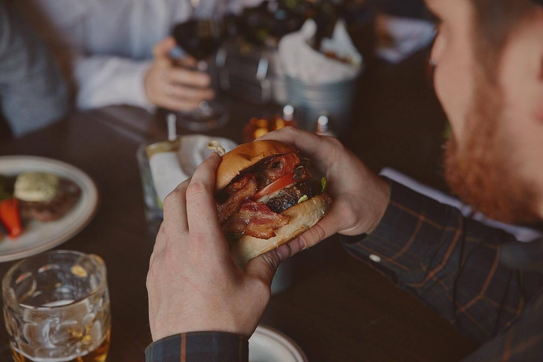 Cheeseburger de la Taverne