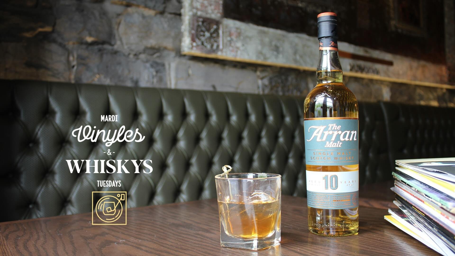 Arran 10 ans Single malt_Vyniles et Whiskey